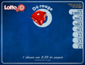 Lotto :D Tapis 2$ Dé rouge