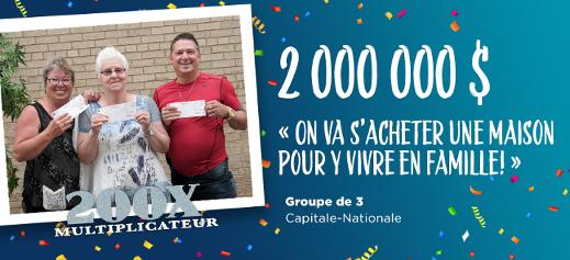 Gagnants 200x Multiplicateur