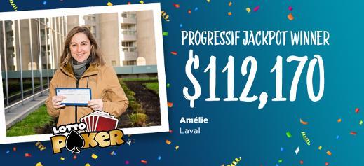 Lotto Poker winner
