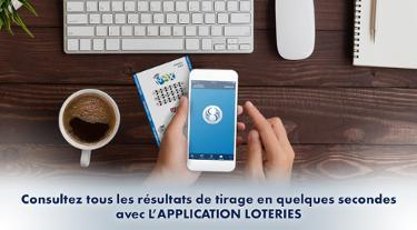 Consultez tous les résultats de tirage en quelques secondes avec l'application Loteries