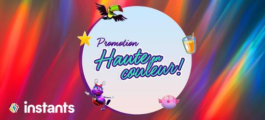 Promotion Haute en couleur
