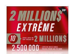 2 million$ extrême