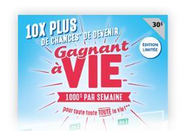 Gagnant à vie $30 limited edition