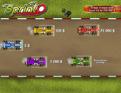 Départ de la course d'automobiles sélection à 5 $