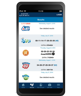 Lotteries App