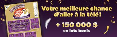 la poule aux oeufs d'or - Votre meilleure chance d'aller à la télé! + 150 000 $ en lots bonis
