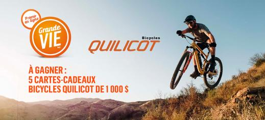 Promotion Grande Vie X Bicycles Quilicot