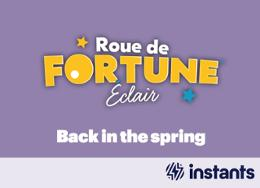 Roue de fortune éclair - back in the spring