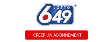 Créer un abonnement au Lotto 6/49