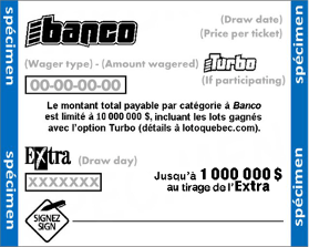 Banco Lottery Results