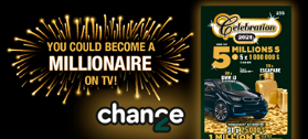 You could become a millionaire on TV!
