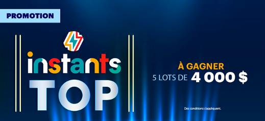 Promotion Instants top