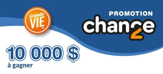 Promotion 2e chance