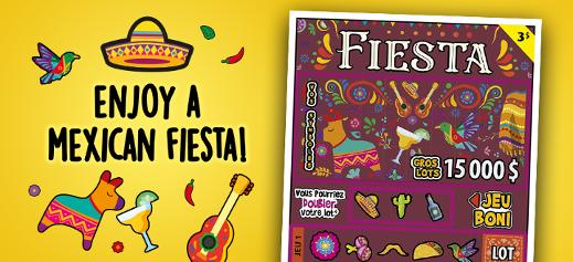 Enjoy a mexican Fiesta!