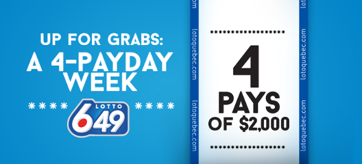 The 4-Payday Week promotion
