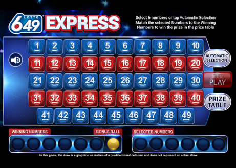 Lotto 6/49 Express