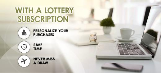 Lottery subscriptions