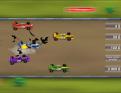 Accident durant la course