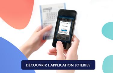 Découvrir l'application Loteries